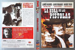 Carátula dvd: La hora de las pistolas