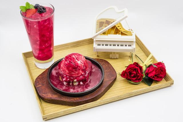Kotobuki Coffee Sizzling Rose Summer Review Singapore
