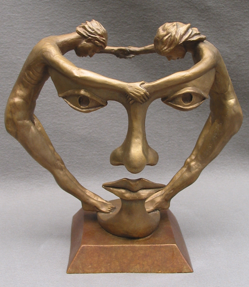 Michael alfano figurative and surrealistic sculptures