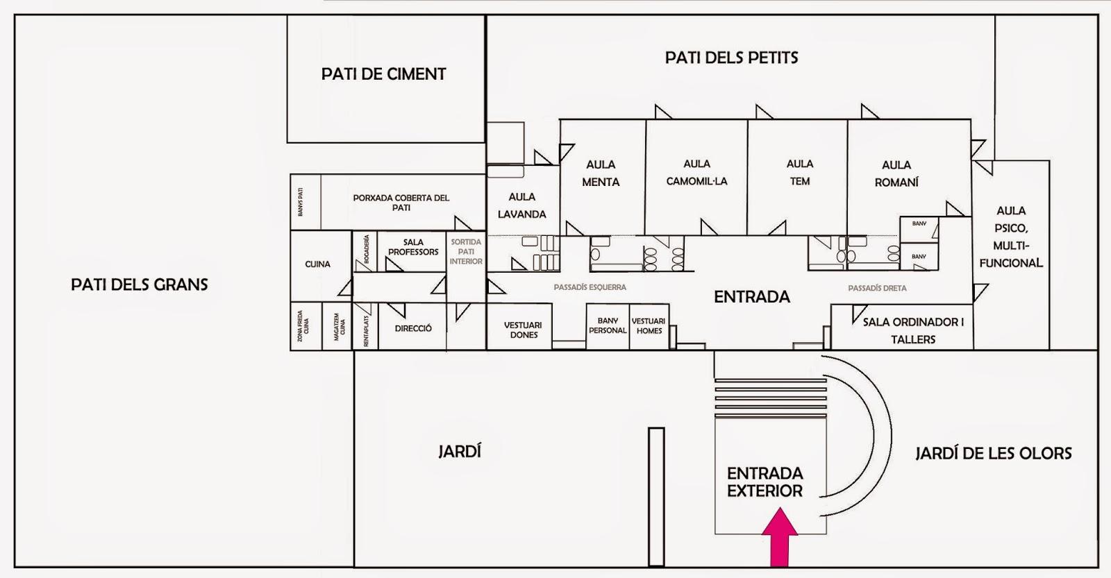 Escola infantil magdalena humbert octubre 2014 for Plano escuela infantil