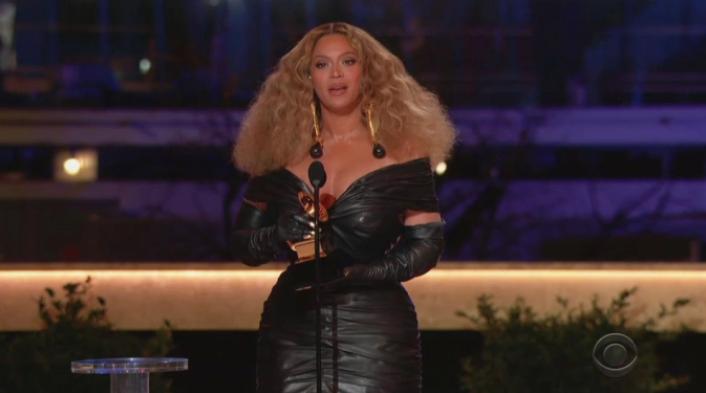 Beyonce en los grammys