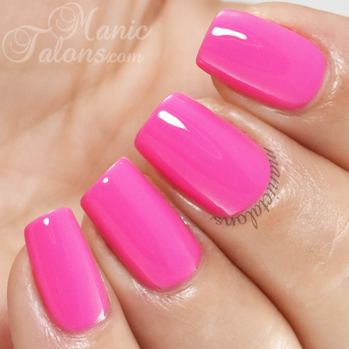Madam Glam Gel Polish Rich Mambo Swatch