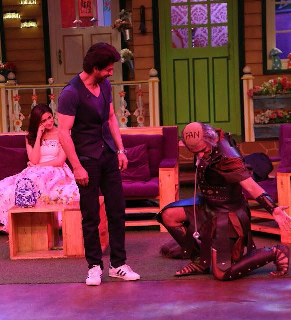 Shah Rukh Khan and Alia Bhatt have a blast on 'The Kapil Sharma Show'.