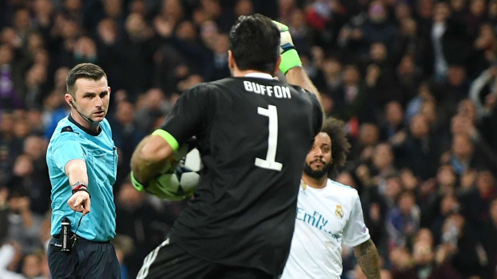 Buffon comments on the possibility of meeting Real Madrid with the champions