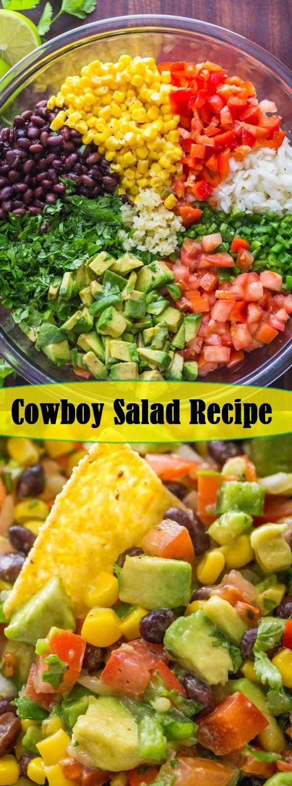 Cowboy Salad Recipe