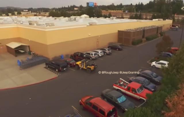 jeep parking, BINTEO
