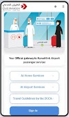 kuwaitmosafer.com -  Arriving / Departing Passenger to/from Kuwait Download App / Register Online on Website