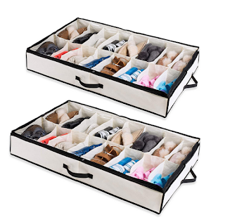Under The Bed Shoe Organizer
