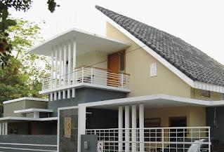 Jenis Rumah Atap Miring
