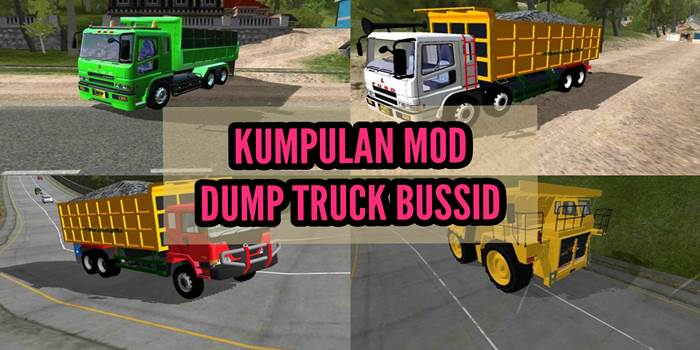 mod dumptruck bussid terbaru