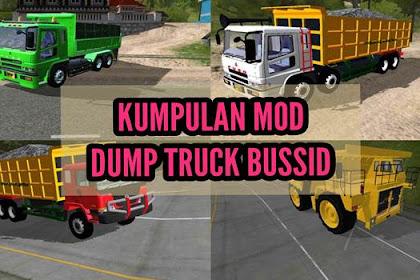 Kumpulan MOD BUSSID Dump Truck Terbaru dan Paling Populer