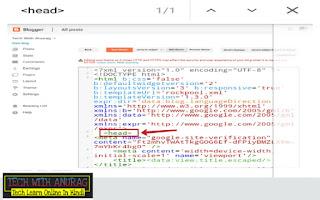Paste HTML Code In Blogger