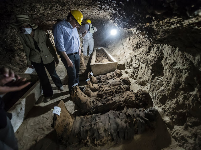 17 mummies discovered in Minya, Egypt