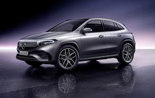 Mercedes launches the electric EQA