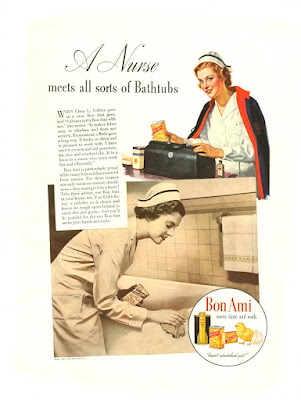 Bon Ami - A Nurse meets all sorts of Bathtubs