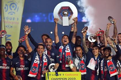 Paris Saint-Germain Resmi Juara Ligue 1 Prancis