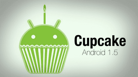 Cupcake adalah nama Android C