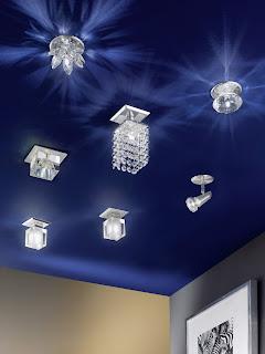 Красивый дизайн потолков и светильников
