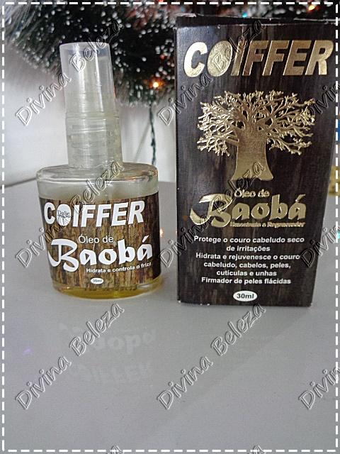 Óleo de Baobá Coiffer