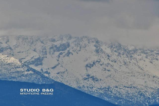 Πολύ το κρύο στην Αργολίδα - Στους μηδέν η θερμοκρασία από νωρίς το απόγευμα της Τρίτης