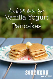 Healthy Vanilla Yogurt Pancakes Recipe Gluten Free