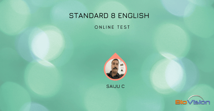 Class 8 English - From a Railway carriage - Online Test
