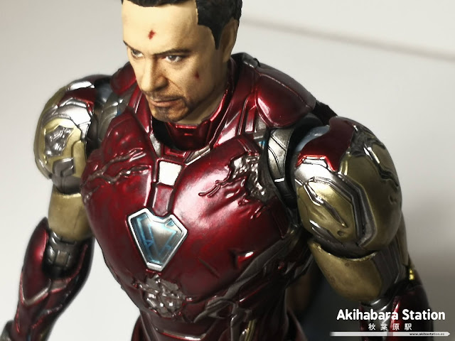Review del S.H.Figuarts Iron Man Mk 85 - I AM IRON MAN - Edition de Avengers: End Game - Tamashii Nations