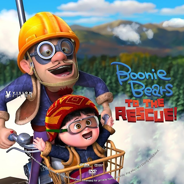 Boonie Bears To the Rescue DVD Label