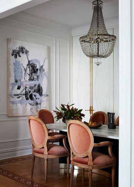 parisian style dining room