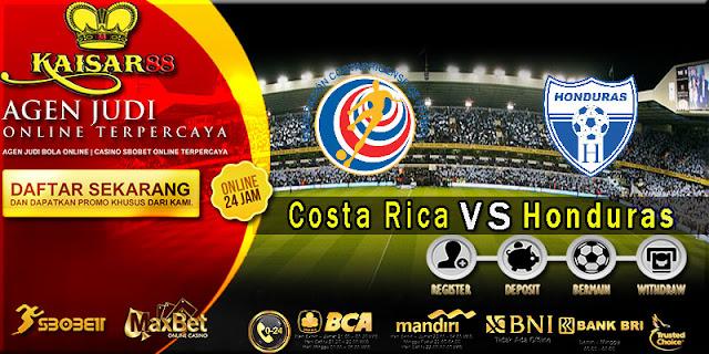 Prediksi bola terpercaya World Cup Costa Rica vs Honduras 7 Oktober 2017