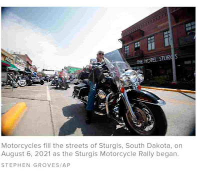 News Today   Sturgis Motorcycle Rally kicks off amid COVID-19 surge fueled by Delta variant