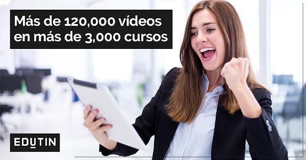 EDUTIN, una plataforma con más de 3.000 cursos en vídeo