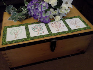 Seasonal Trees Mini Table Runner