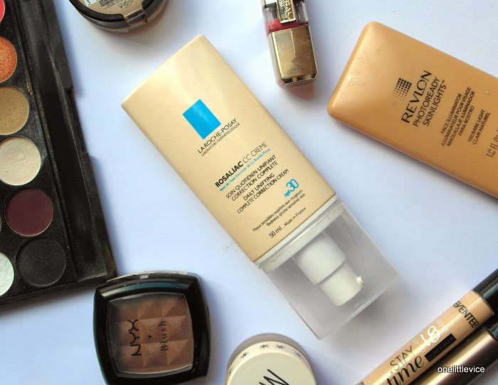 spf foundation for covering redness in skin