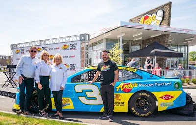 Andy's Frozen Custard Expands Motorsports Initiative with Multi-Year Texas Motor Speedway Partnership