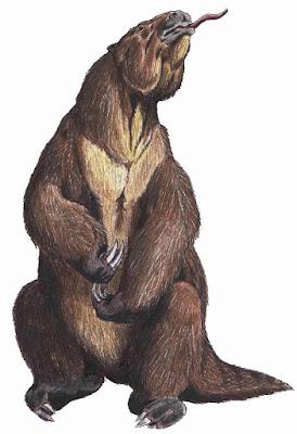 Facts about Giant Ground Sloth(Megatherium) in Hindi - जायंट ग्राउंड स्लोथ के बारे में 12 रोचक और मजेदार तथ्य