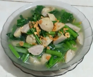 Resep Bumbu Sawi Kuah Bakso Segar dan Lezat