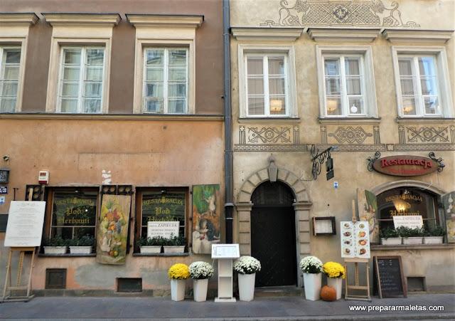 decoración tiendas y restaurantes en Varsovia
