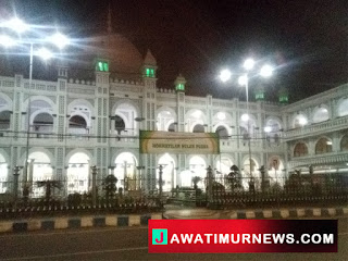 Suasana Ramadhan 1440 H, Hari Ke 2, Masjid Jami' Kota Pasuruan