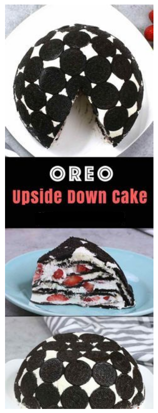 Easy No Bake Oreo Cake