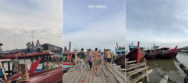 Pantai Olo dan Tempat Pelelangan Ikan di Belawan - Pelelangan Ikan 02