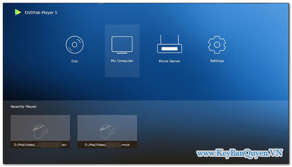 Tải và cài đặt DVDFab Player 5 Ultra 5.0.3.1 Full Key, Phần mềm xem phim HD - HDR10 - UHD - 3D và Blu-ray chuyên nghiệp nhất.