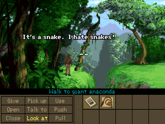 Screenshot of Indiana Jones and the Fate of Atlantis