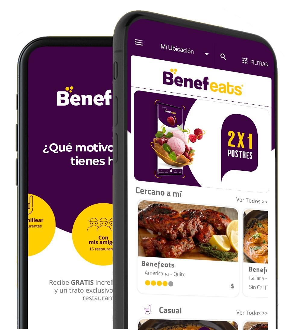BENEFEATS, la nueva App de reservas 100% desarrollada en Ecuador