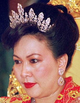 diamond tiara princess mariam brunei FRED