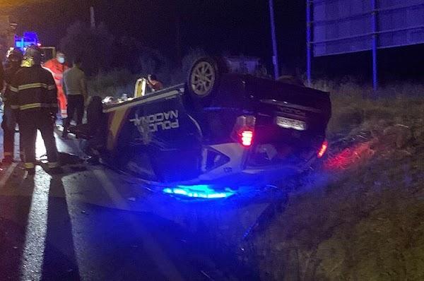 Un inspector de Policía Nacional  resulta herido de gravedad s tras ser arrollado por un coche que transportaba hachís.