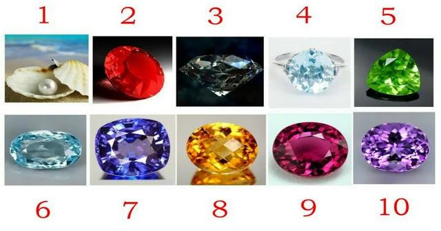 Выберите камень и узнайте свои сильные стороны