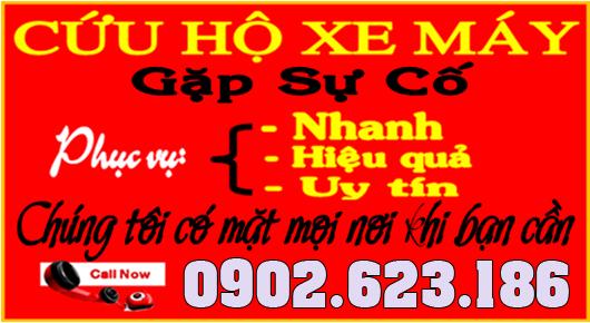 Dịch vụ Cứu hộ xe máy tận nơi tại quận 2 - Call 0902623186 để được hổ trợ