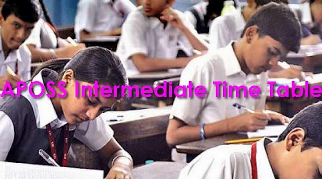 APOSS Intermediate Time Table