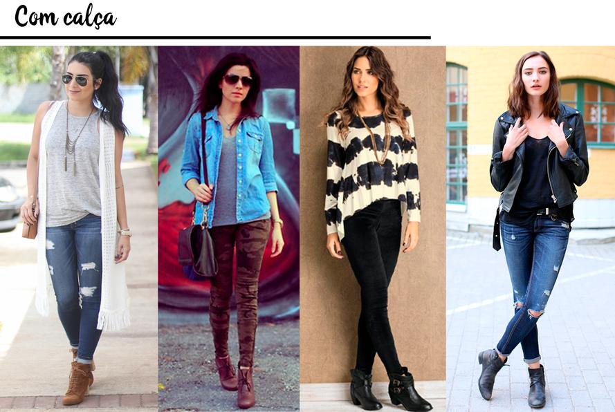 Como usar: Bota de cano curto | QUEBREI A REGRA - Blog de moda, beleza ...